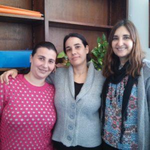 Wissenschaftlerinnen des argentinischen Forschungsteams: Natalia Gorino, Ana Julieta González y und María Susana Fortunato